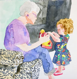 Grandma Judy & Tessa