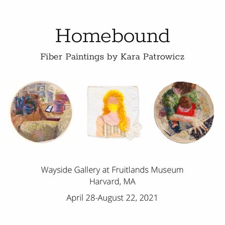 Solo Exhibit at Fruitlands' Wayside Gallery