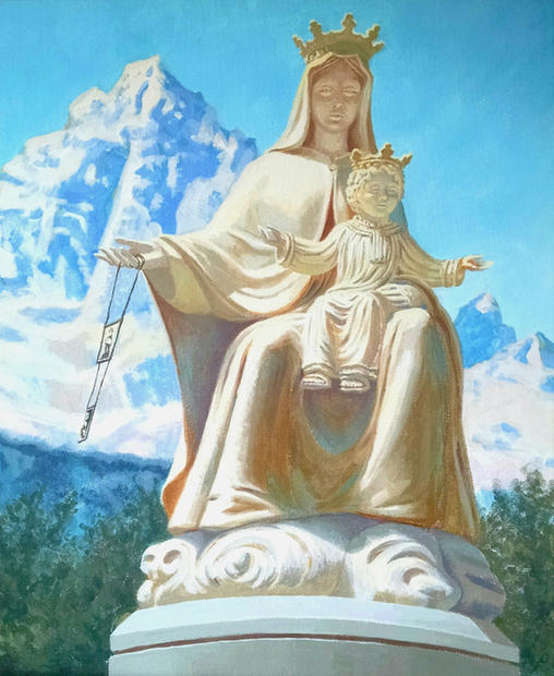 Our Lady of Carmel (Mount Viso)