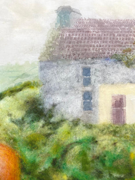 Detail of Grandmother's Cottage, County Cork