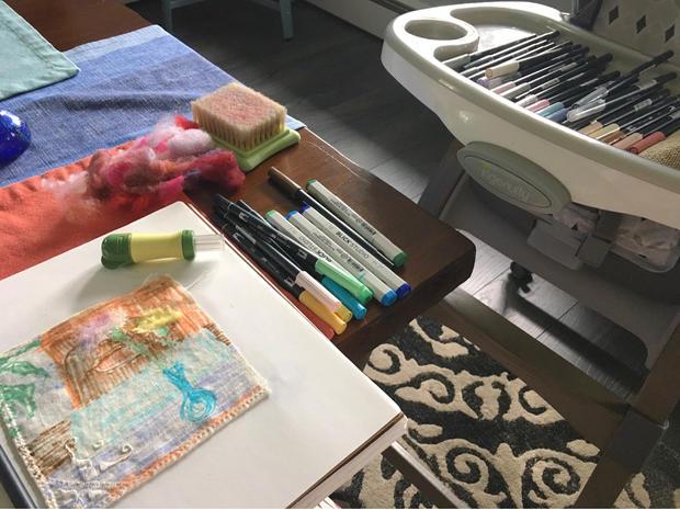 Kitchen table studio