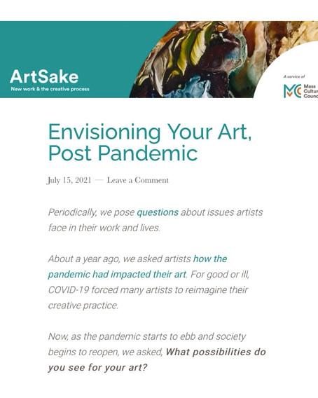 Featured on ArtSake MCC Blog