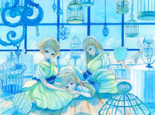 春花楼の三姉妹