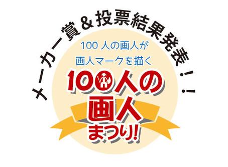 「100人の画人まつり」の投票結果