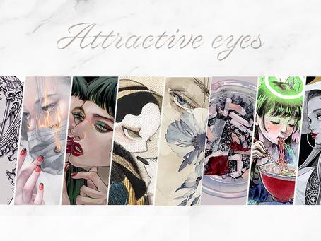 「Attractive eyes」芝田町画廊主催岬ましろキュレーション展