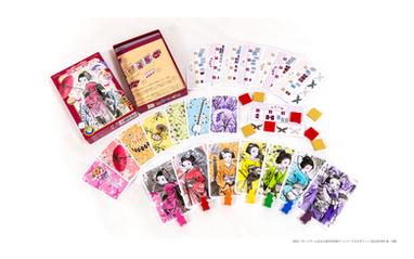 ボードゲーム花見小路日本版アートワーク
