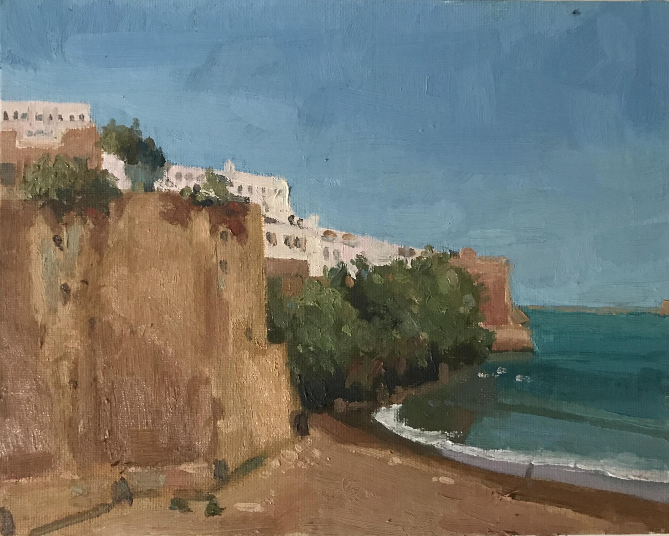 View of Rabat Morocco