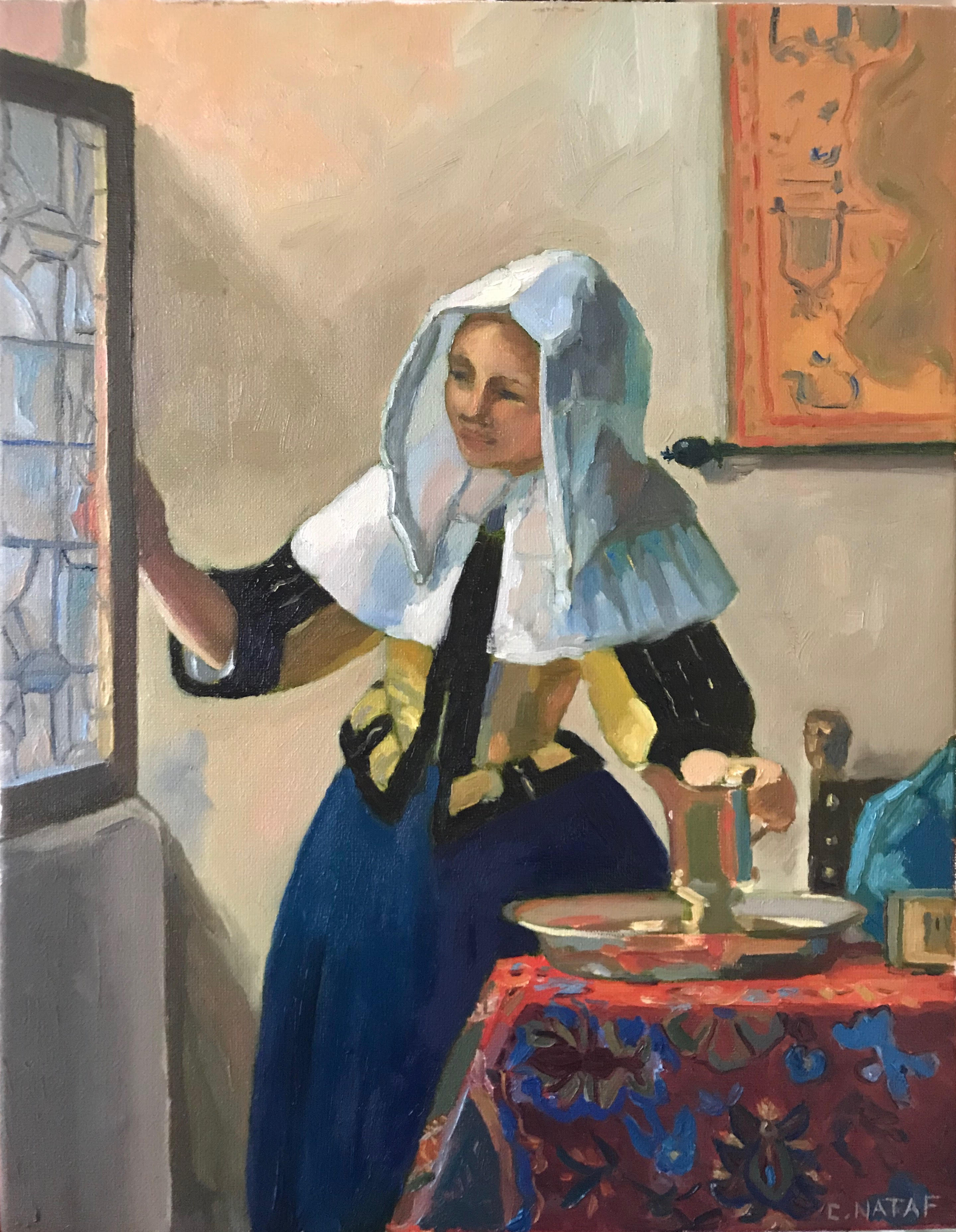 Young Woman with Water pitcher