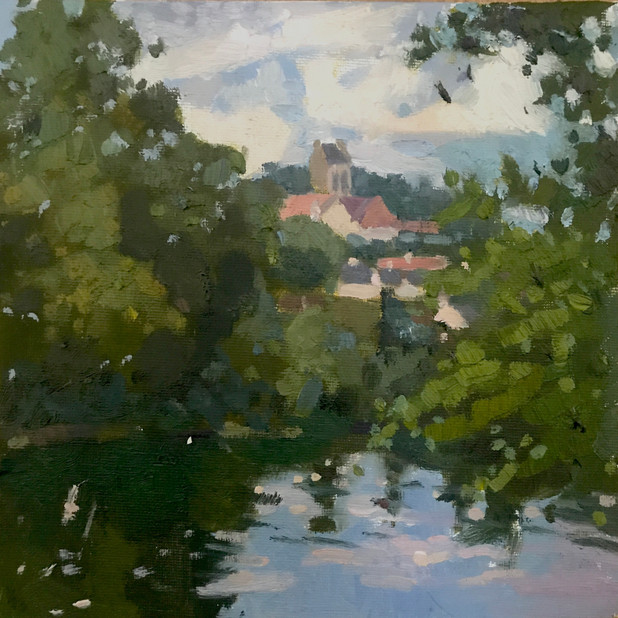 Le long de l'Oise Plein Air
