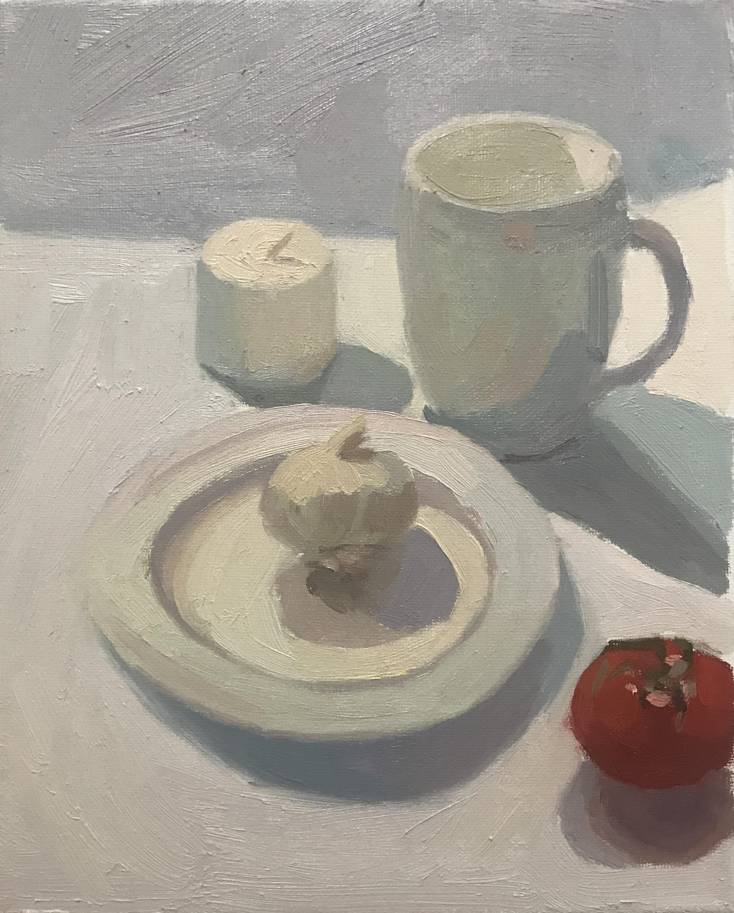 White Still Life Kitchen