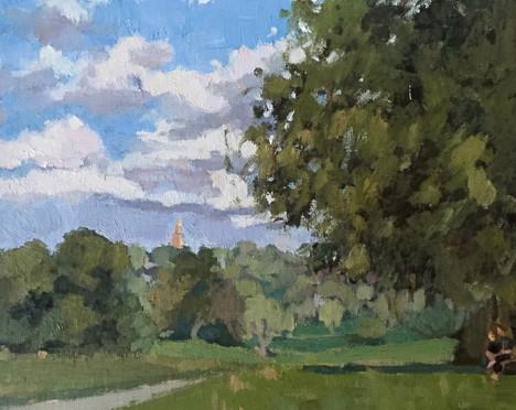 Hampstead Heath Perspective