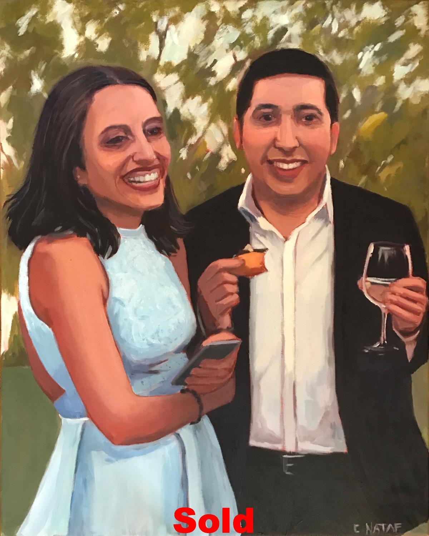 Couple Commissionned Portrait