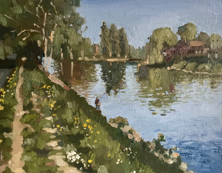 Parmain Banks of the Oise