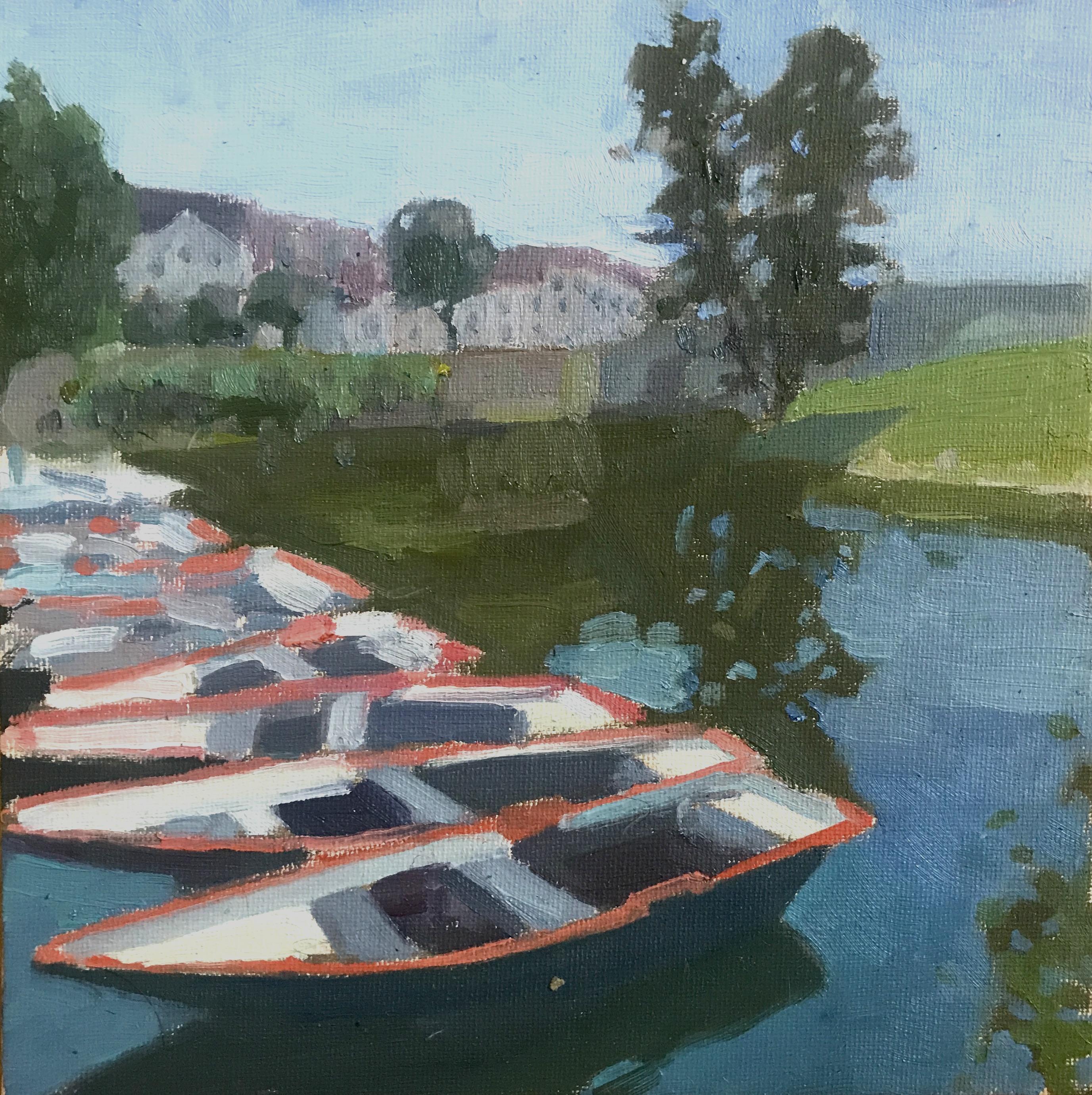 Barques Plage de L'Isle Adam