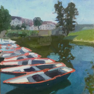 Barques Plage de L'Isle-Adam
