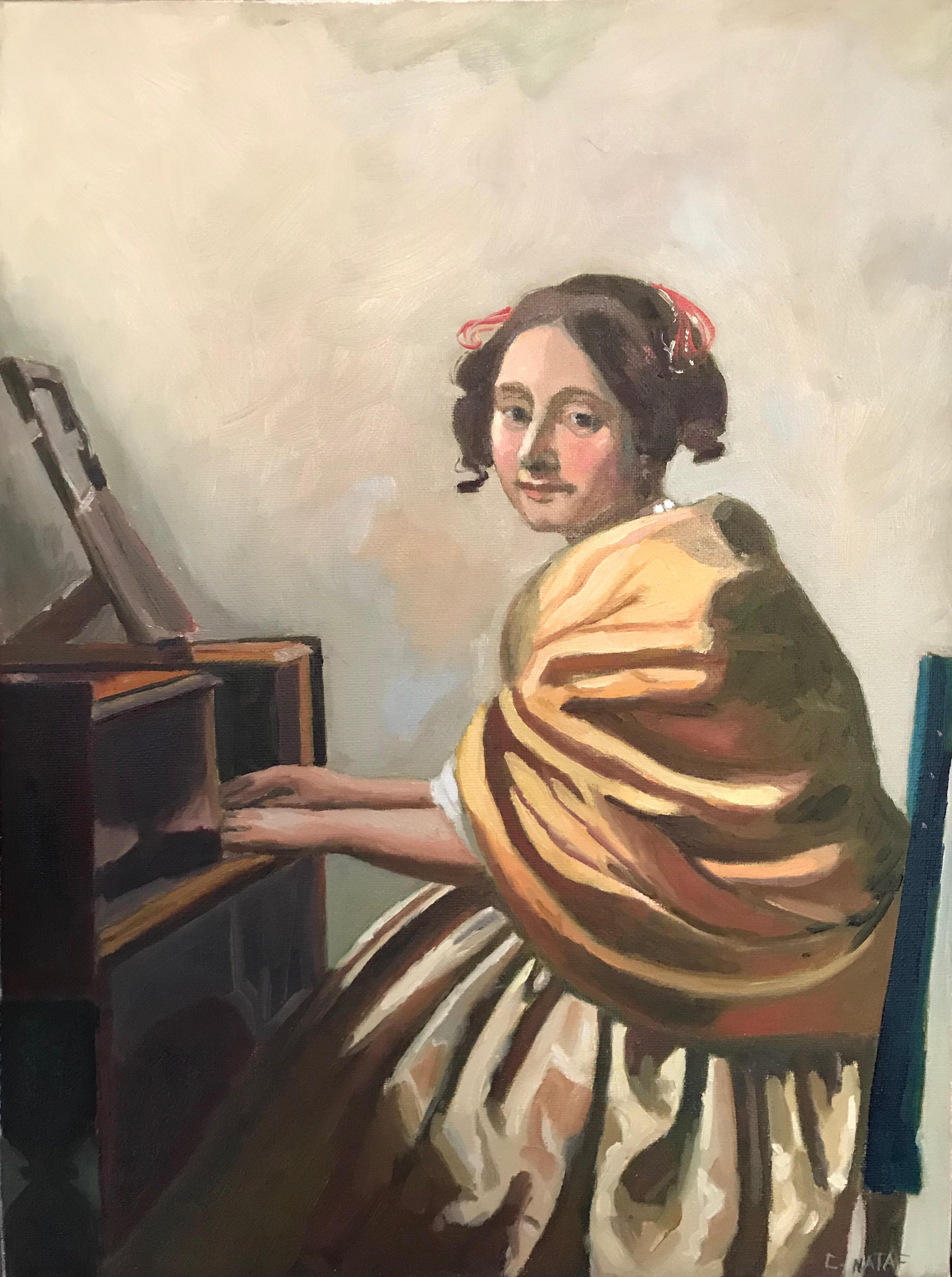 Vermeer - Young Woman at a Virginal
