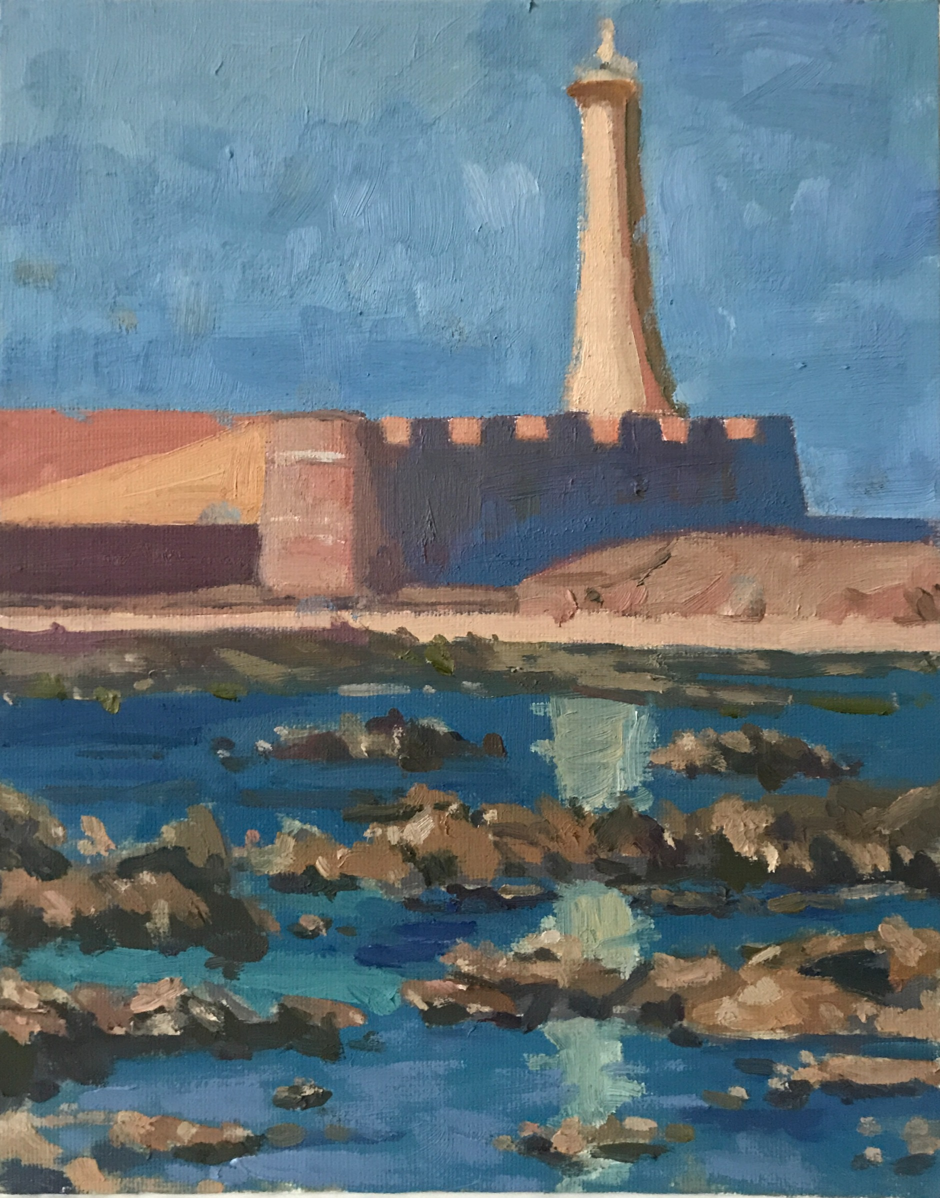 Port Rabat Lighthouse Morocco