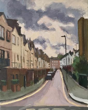 London streets Grey