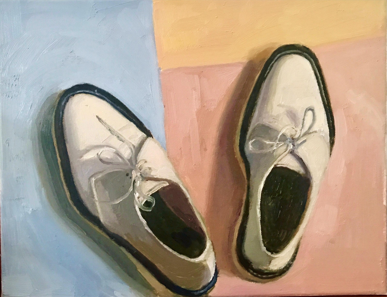 Adieu Shoes White