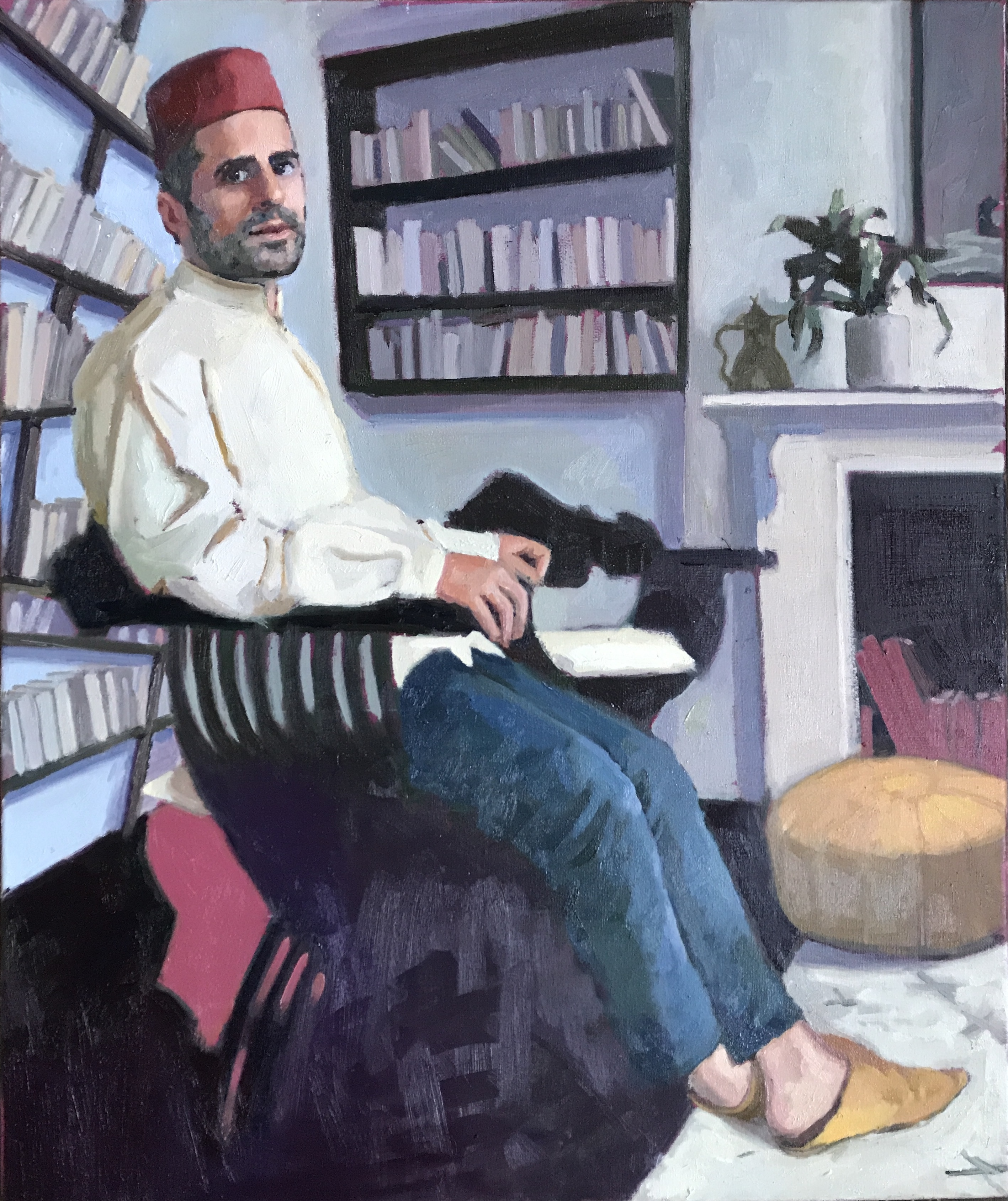 Portrait of Professor Mohamed Ali