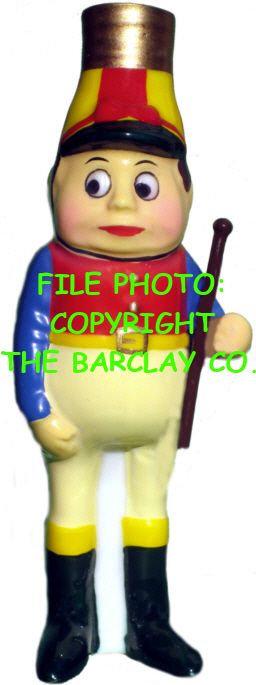 "#BC-060 - Palmer Cox Brownies ""Milk Glass"" Bulb Cover - Brownie Jockey"