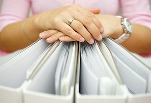 Secretary Holding Binders, Concept Of Accounting,business,documentation,paperwork.jpg