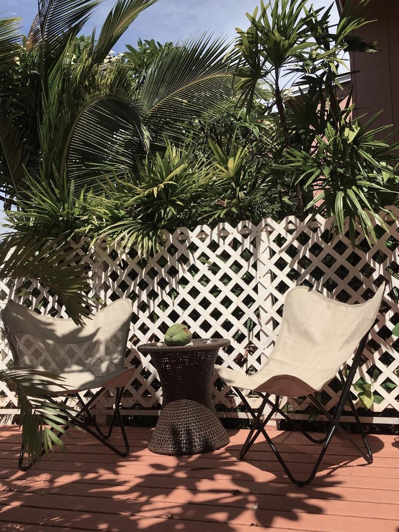 Maui Garden Oasis Deck
