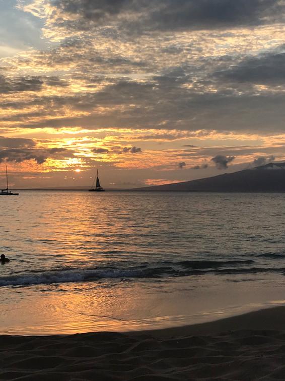 Sunset Hawaii