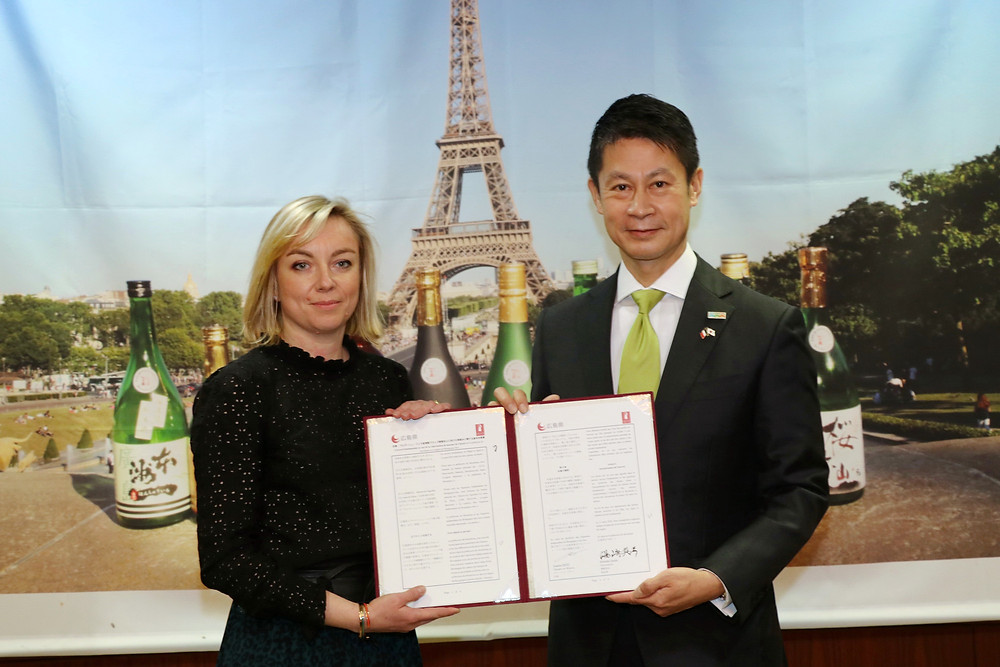 Accord saké Hiroshima vins Bourgogne Jura