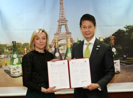Accord entre les sakés de Hiroshima et les Vignerons de Bourgogne-Jura