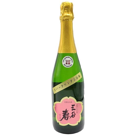 "Saké pétillant ""Mitaniharu"" 720ml"