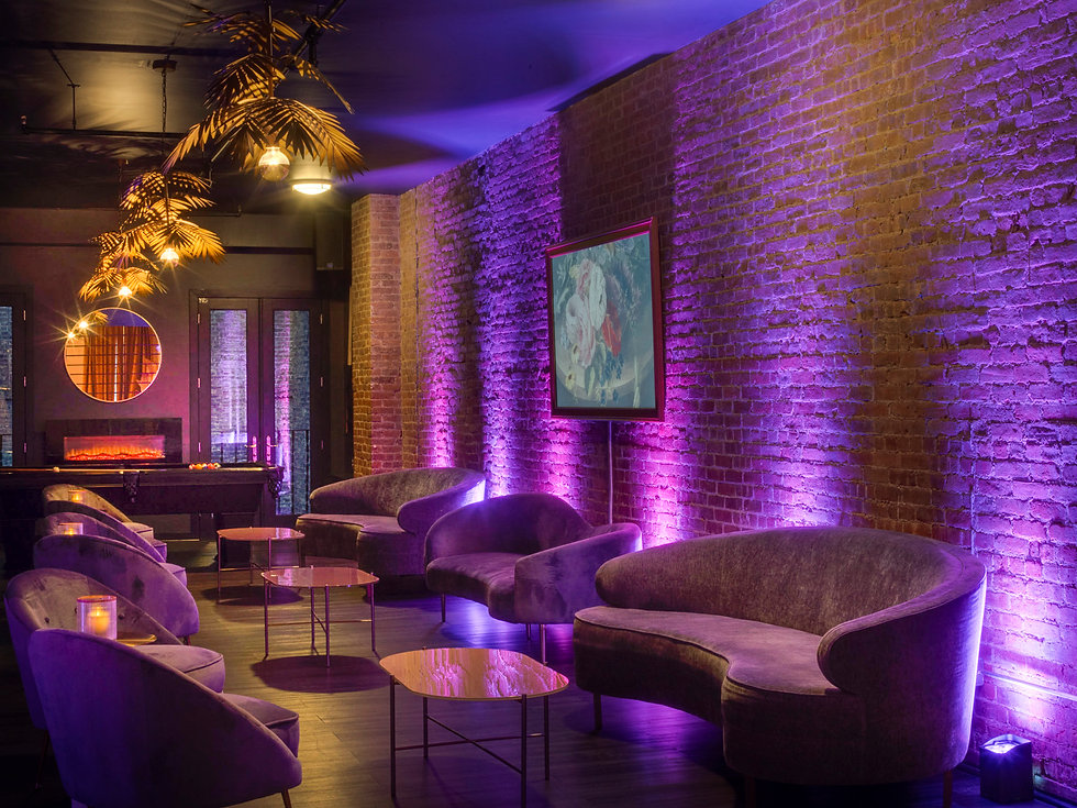 Private Party Lounge in Manhattan New York