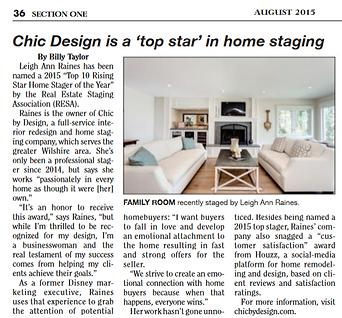 Chic By Design news media