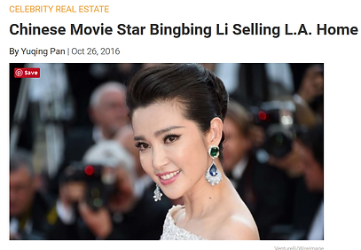 celebrity home staging