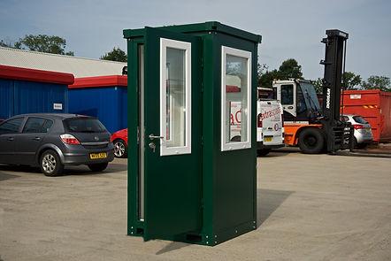 Expandakiosk® insulated pre-assembled kiosk