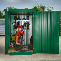 XPandastore mini used as Bike Storage