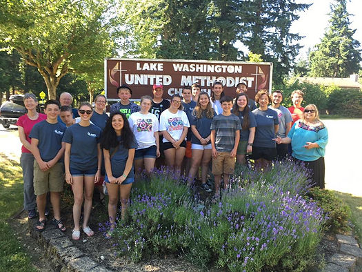 Seattle mission trip with LAST July 2017
