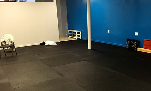 Mats are down!