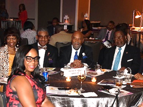 Representatives from the Conference of Grand Masters Prince Hall Masons Inc., (COGM)