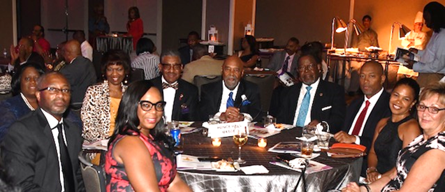 Attendees at NNPA Reception