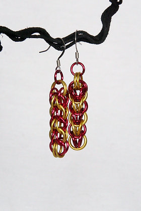 Ketchup and Mustard Earrings