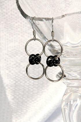 Simple Barrel Earrings