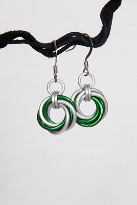 Irish Mobius Earrings