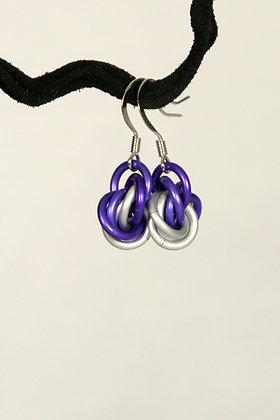 Bright Mobius Earrings