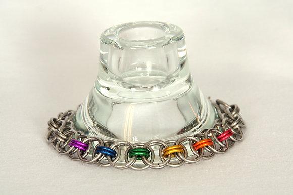 Helm's Chain Pride Bracelet