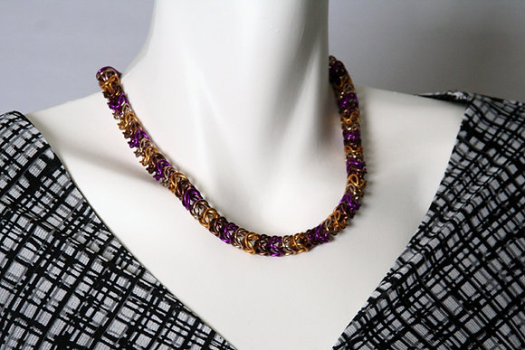 Rustic Boxchain Necklace