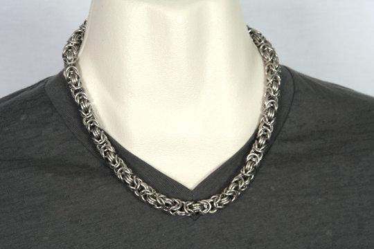 Stainless Byzantine Necklace