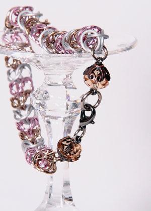 Neopolitan Box Chain Bracelet