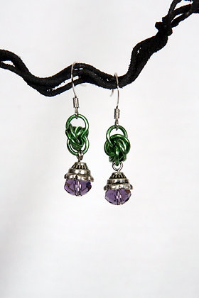 "Joker ""Lite"" Mobius Earrings"
