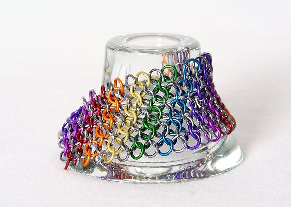 Rainbow Cuff Bracelet